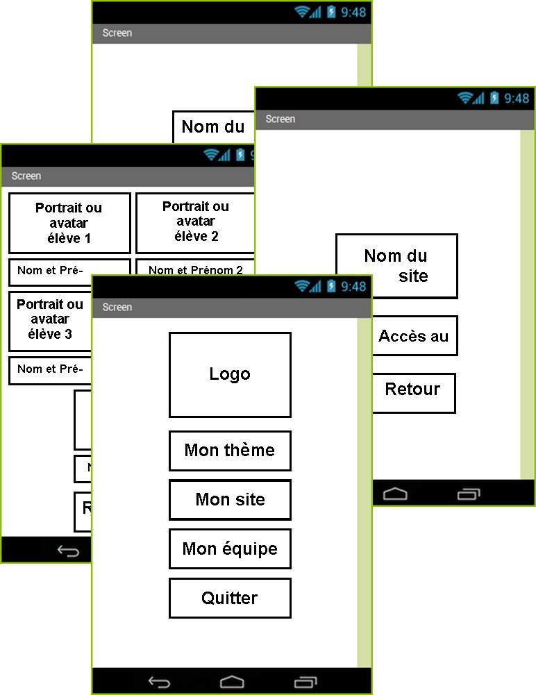 Android - My Bolide - Composition graphique