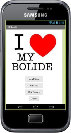 Projet - Android - My Bolide