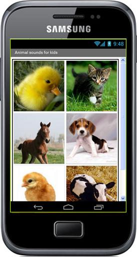 Projet - Android - Animal sounds for kids